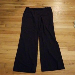Navy Ellen Tracy Trousers size 8